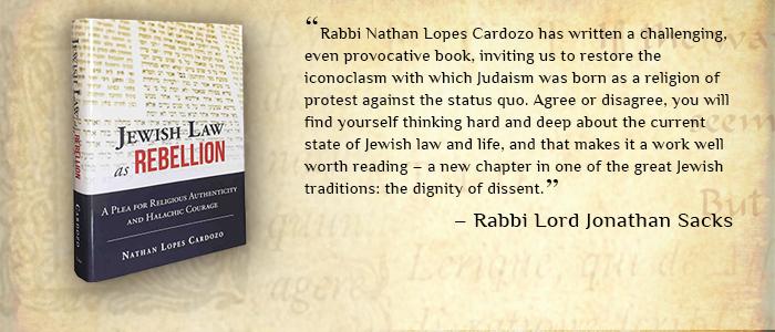Jewish Law as Rebellion